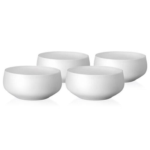 Crystalex Mini Bowls White 4 részes tálkészlet,95 ml