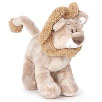 plüss oroszlán, barna, 22 cm