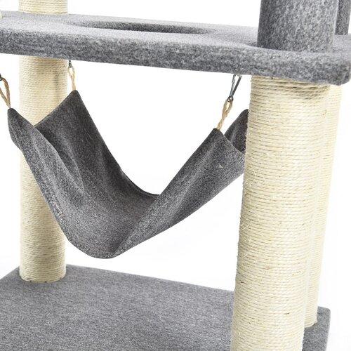 Škrabadlo pro kočky Gita, 59 x 49 x 155 cm