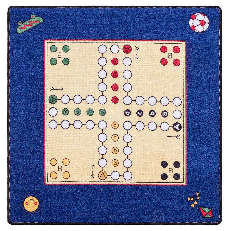 Spoltex Detský koberec Človeče nehnevaj sa 92 x 92 cm