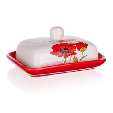 BANQUET Red Poppy dóza na máslo