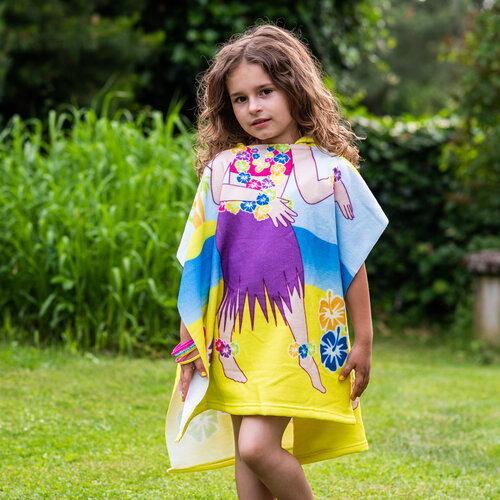 Hawaii gyermek poncsó, 60 x 120 cm