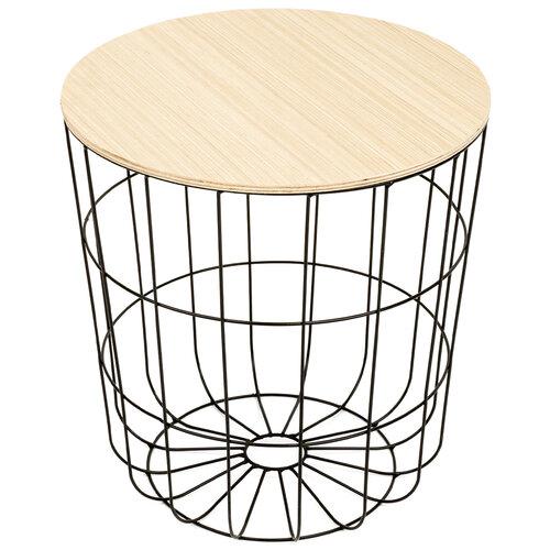 Odkládací stolek Kilenny černá, 42 cm