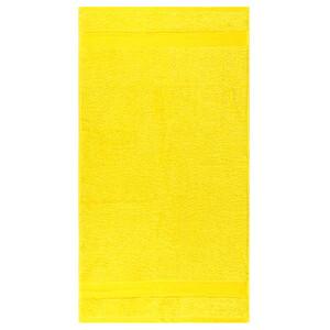 Osuška Olivia žlutá, 70 x 140 cm