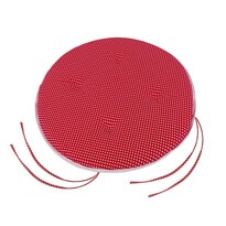 Sedák Adela okrúhly hladký Bodka červená, 40 cm