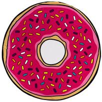 Prosop de plajă micro Donut, 150 cm