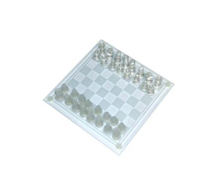 Skleněné šachy Chess, transparentní