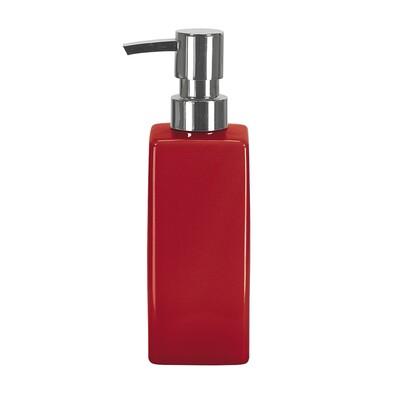 Dozător de săpun roșu