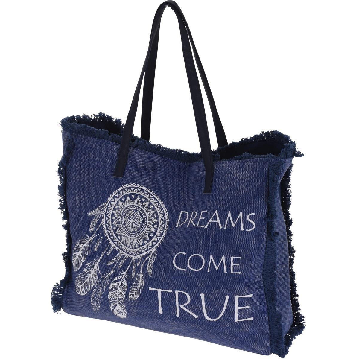 Koopman Plážová taška Dreams come true, modrá
