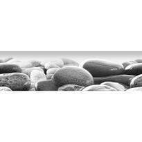 Poster autocolant Beach stones, 500 x 14 cm