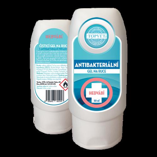 Topvet Antibakteriální gel na ruce Hedvábí 50ml