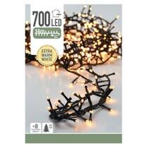 Instalaţie pom de Crăciun Twinkle, alb cald, 700 LED