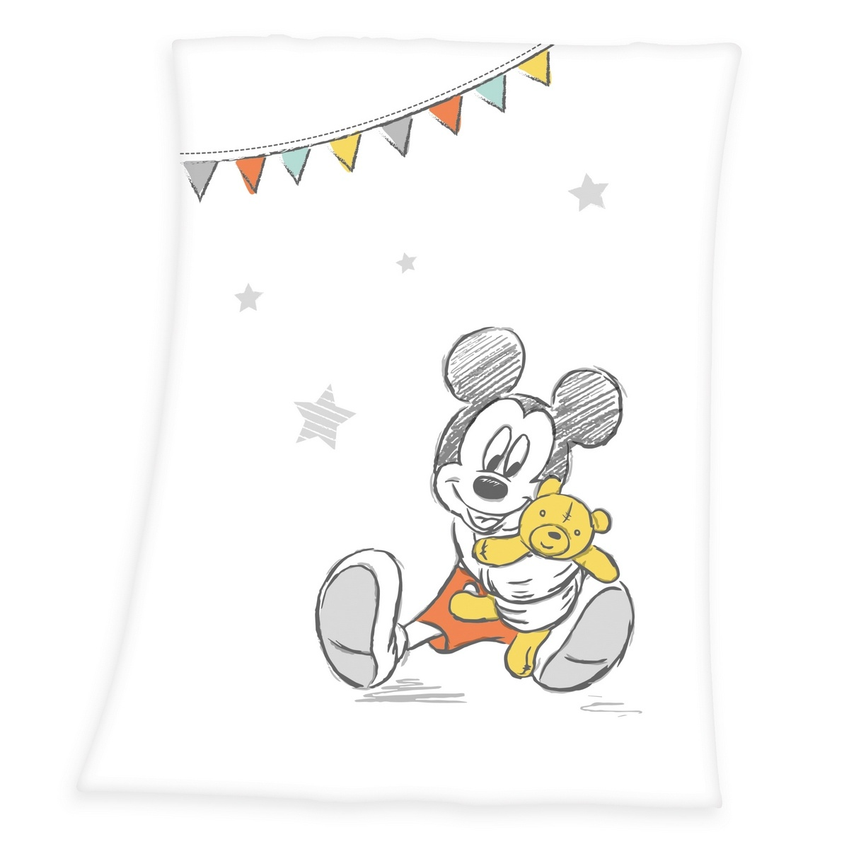 Produktové foto Herding Dětská deka Mickey Mouse, 75 x 100 cm