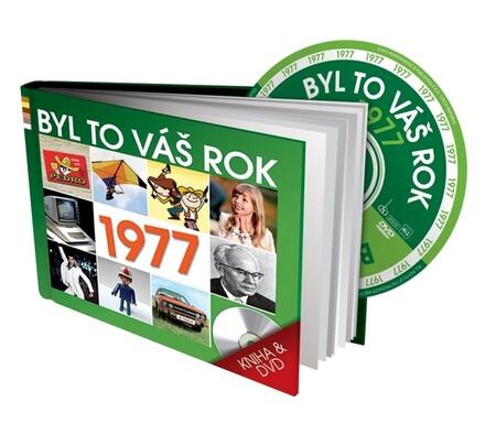 Byl to váš rok 1977, DVD+kniha, vícebarevná