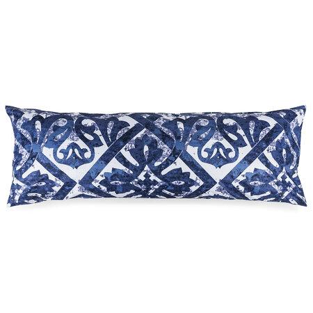 Obliečka na Relaxačný vankúš Náhradný manžel Porto modrá, 50 x 150 cm