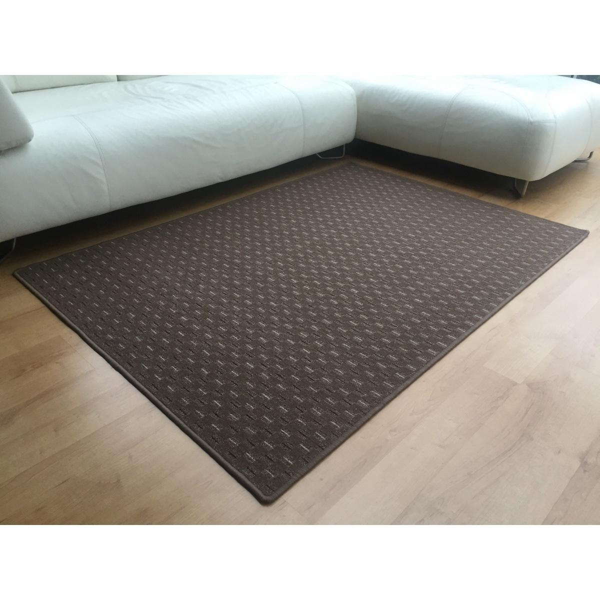 Vopi Kusový koberec Valencia hnedá, 140 x 200 cm