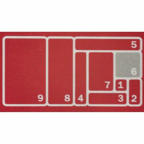 KIS Organizér Sistemo 6, 15 x 15 x 5 cm, sivá