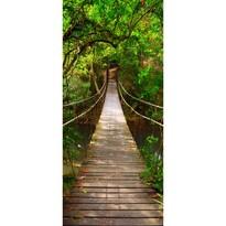 Tapeta fotograficzna pionowa Green bridge, 90 x 202 cm