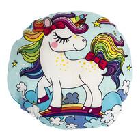 Tvarovaný polštářek Unicorns are awesome, 30 cm
