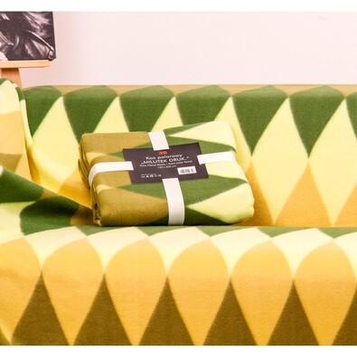 Deka Milutek Druk zelená, 150 x 200 cm