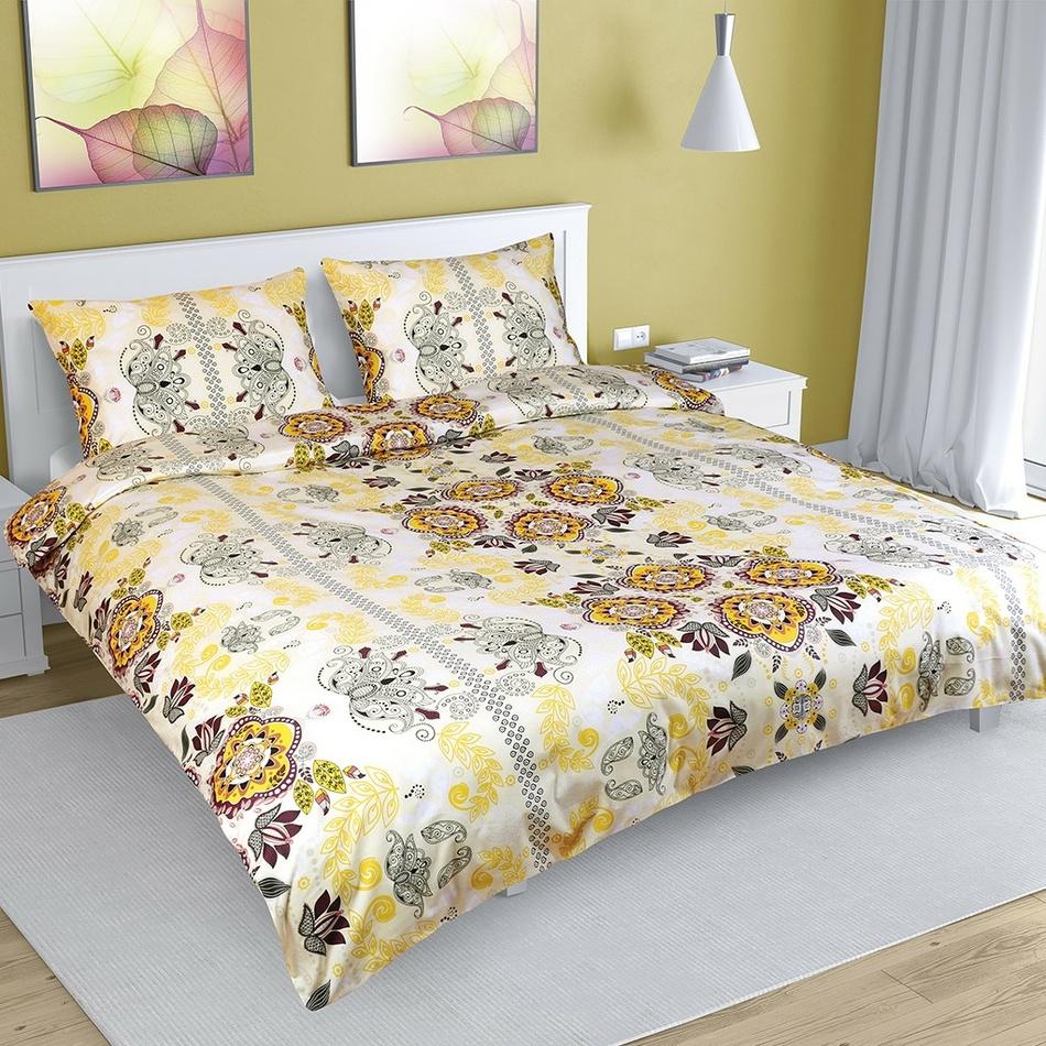 Bellatex Bavlnené obliečky Ornament, 180 x 200 cm, 50 x 70 cm
