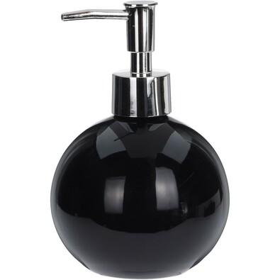 Boma szappanadagoló, fekete
