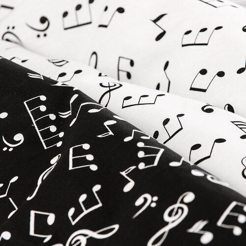 4Home pamut ágyneműhuzat Music, 140 x 200 cm, 70 x 90 cm