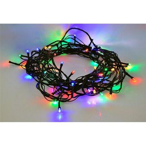 Solight Vánoční řetěz 200 LED barevný, 20 m