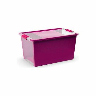 KIS Úložný box Bi Box L 40 l, fialová