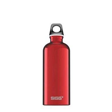 SIGG Traveller Red láhev 0,6 l