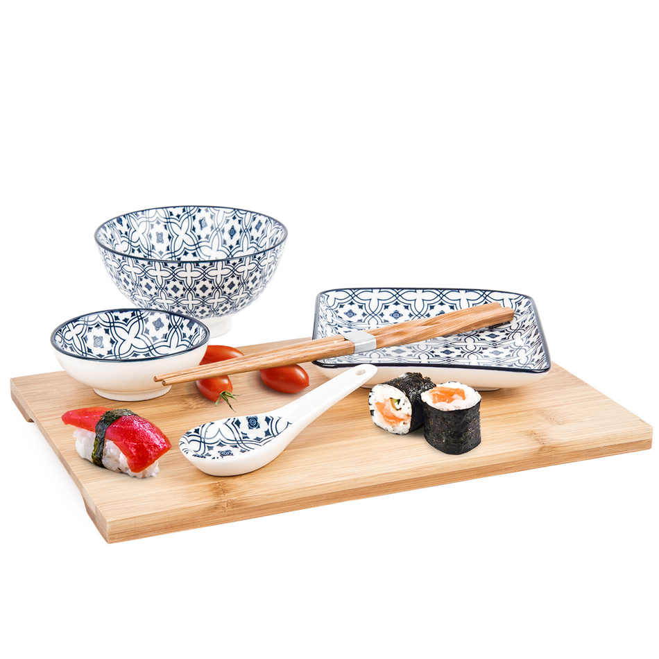 6-dielna Sushi sada Wuhan