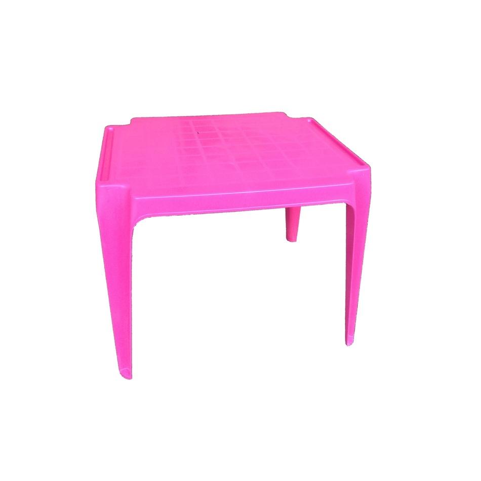 Dětský stůl, růžová