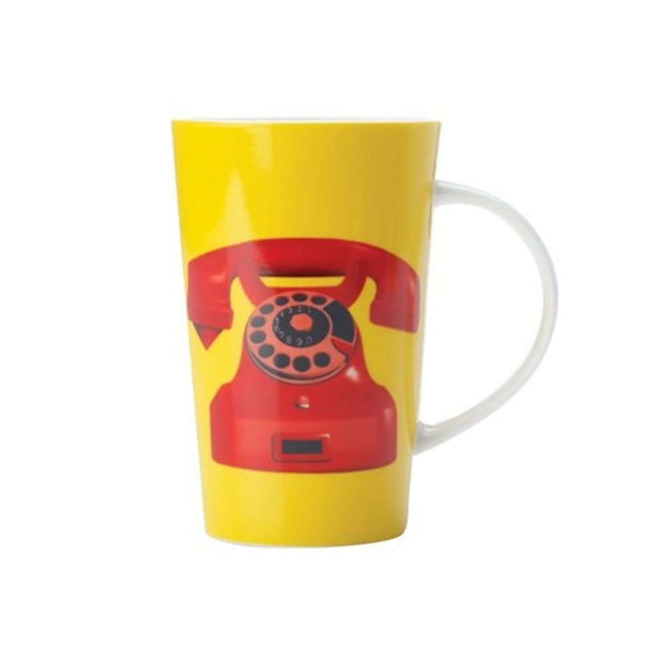 Maxwell & Williams Dial Tone Conical Mug 420 ml