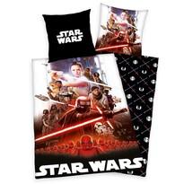 Lenjerie de pat, din bumbac, Star Wars, 135 x 200 cm, 80 x 80 cm