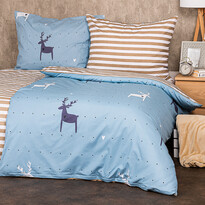 4Home Pościel bawełniana Deer love,