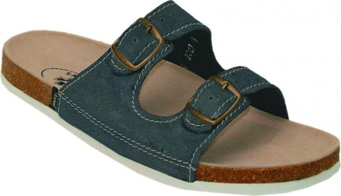 Pánské pantofle, modrá, 43