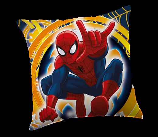 Poduszka Spiderman yellow, 40 x 40 cm