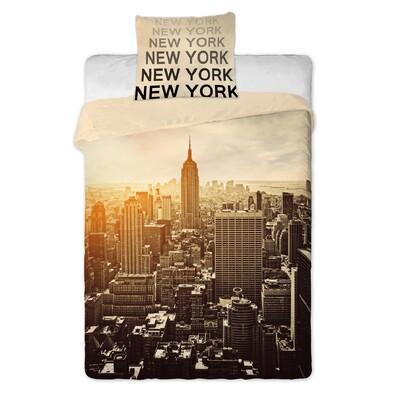 Bavlněné povlečení New York, 140 x 200 cm, 70 x 90 cm
