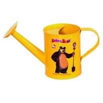 Bino Mása és a medve öntözőkanna, sárga, 25 cm