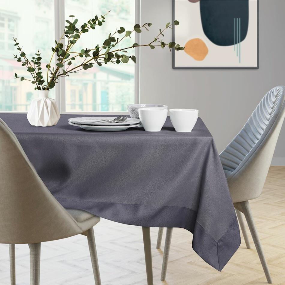AmeliaHome Față de masă Empire, culoarea lavandei, 110 x 110 cm imagine