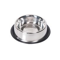 Karlie Nerezová miska s gumovým okrajom, 450 ml