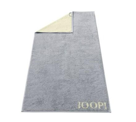 JOOP! osuška Doubleface sivá, 80 x 150 cm