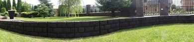 Záhradná palisáda - obrubník hnedá, 2,2 m