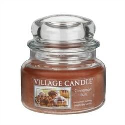 Village Candle Vonná svíčka Skořicový koláč - Cinnamon Bun, 269 g
