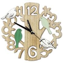Nástenné hodiny Vtáčiky, pr. 33,5 cm