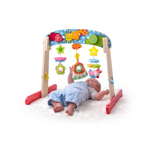 Niny fa foglalkoztató csecsemőknek,  56 x 45 x 49 cm