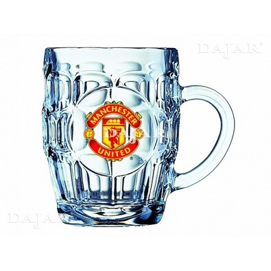 Sklenice Manchester United  0,5 l