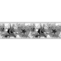 Samolepiaca bordúra Orchidey, 500 x 14 cm