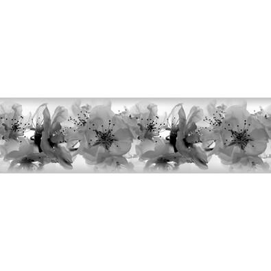 Orchideák öntapadós bordűr tapéta , 500 x 14 cm