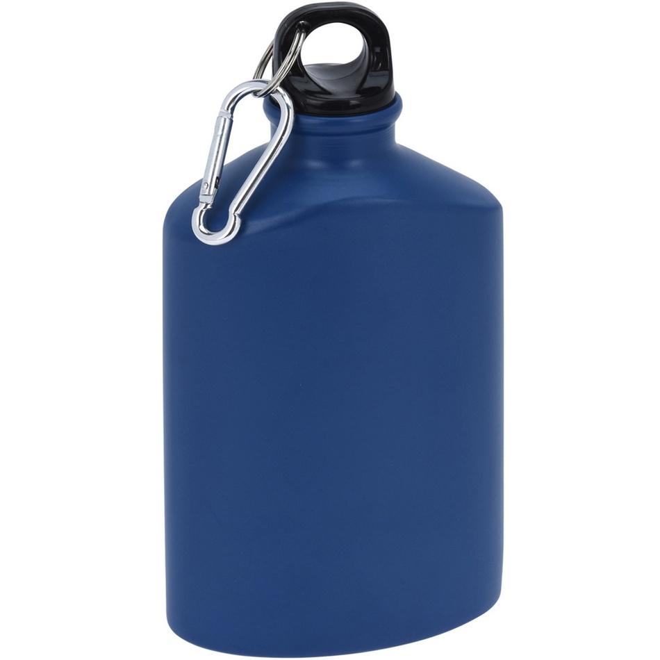 Koopman Športová hliníková fľaša s uzáverom 500 ml, navy